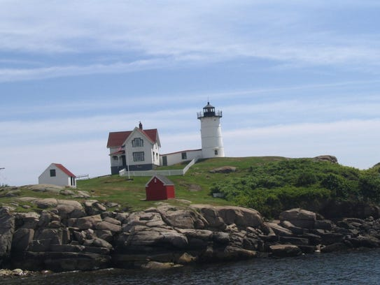 """""""Nubble Light on Coast"""" is among works by Marty Galster"""