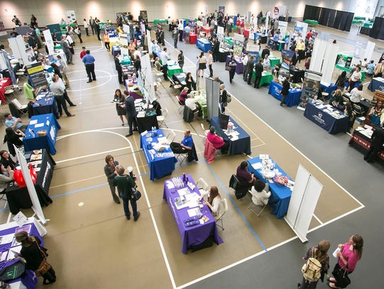 York College Career Expo Wednesday, March 16, 2016,