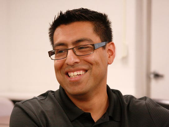 Israel Flores, a family coach at Early Childhood Connections,