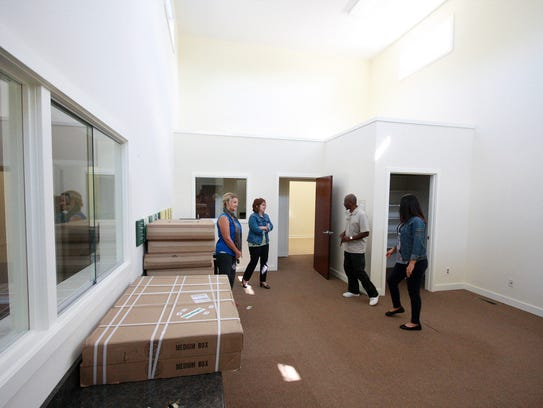 The new recovery center at 215 E. Roosevelt Ave. is