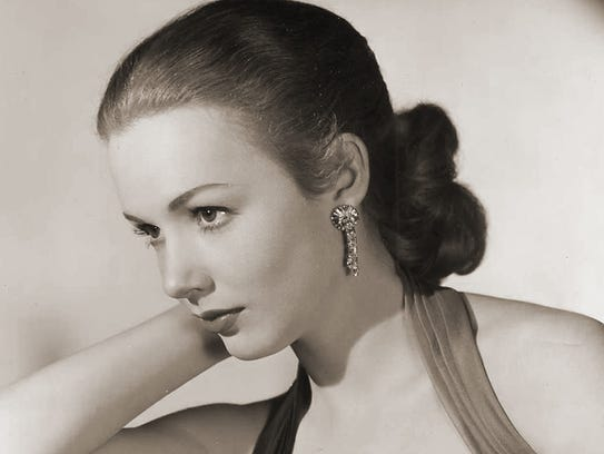 Piper Laurie in a photo from the cover of her memoir,