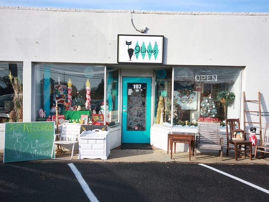 9 Lives Vintage and Thrift at 197 N. 20th Street in