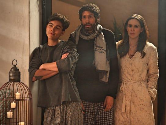 Francisco (Benny Ibarra) and his son (Sergio Mayer