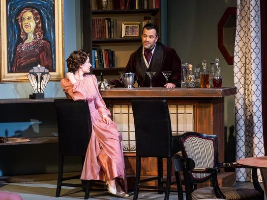 Charles (Mark Neufang) and Ruth (Alyssa Falvey) share