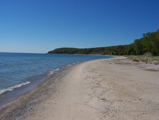 North Manitou Island beach