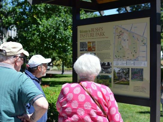 Friends of Bush Gardens, in partnership with Salem