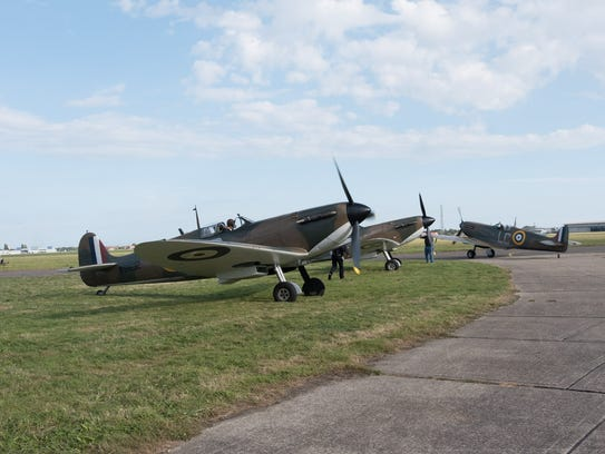 Real Spitfires, of which there are only a few dozen