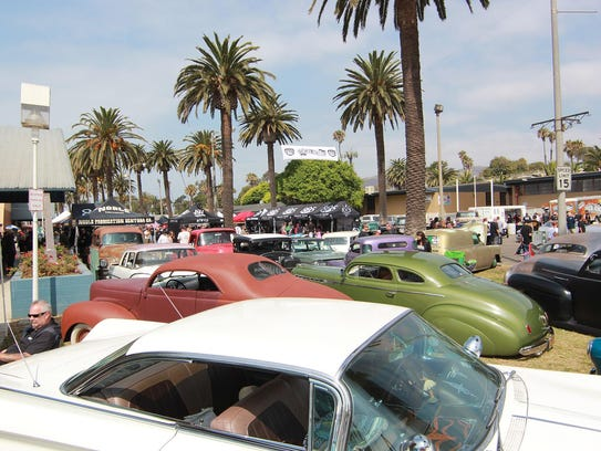 Classic cars are front and center at the Ventura Nationals