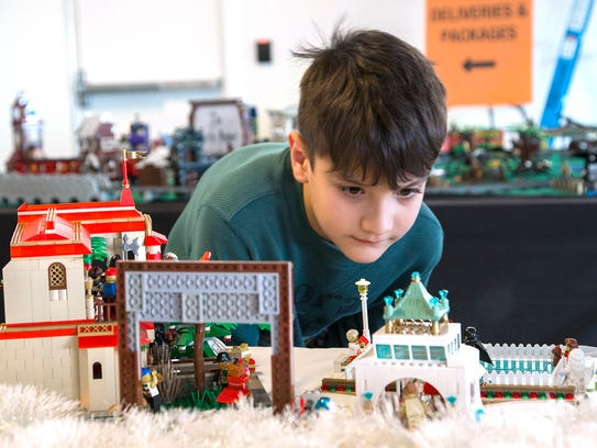 Wintry LEGO exhibits will be on display at Discovery