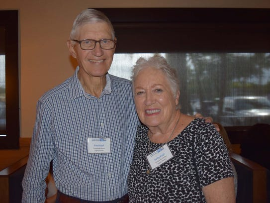 Fred and Betty Kopf attended the United Way of Martin