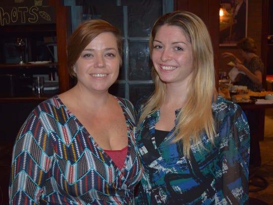 Rachel Terlizzi and Victoria Spino were in attendance