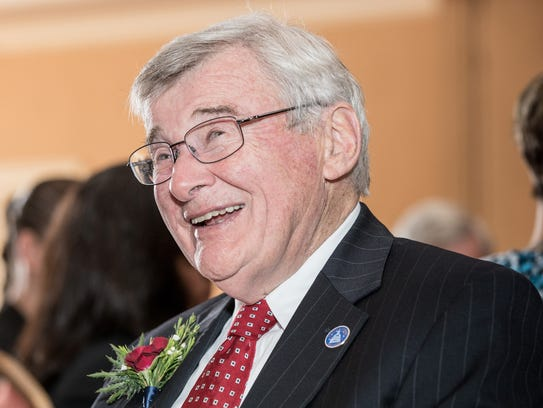 Retiring Freeholder Director Peter Palmer will be the