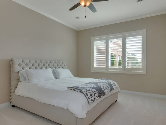 One of the bedrooms at 21096 Westbrook Drive, Cold