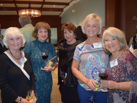 Betsy Herold, left, Linda Longstreet, Karen Dakers,