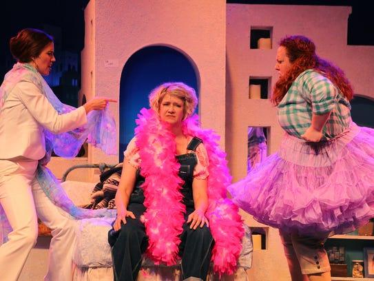 "A scene from Broadway Palm's ""Mamma Mia!"""