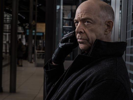 "J.K. Simmons as Howard Silk on ""Counterpart."""