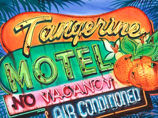 "Alison LaMon's ""Tangerine Motel"" will be displayed"