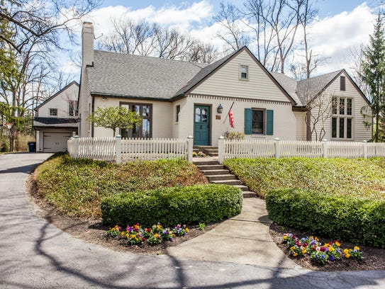 The home at 7845 Allisonville was built in the 1930s