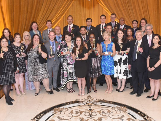 Overlook Medical Center held its 15th annual Clinical Excellence Award ceremony on May 8 at the Primavera Regency in the Stirling section of Long Hill Township.