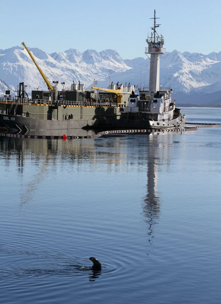 25 years from the date of the leak of oil from the tanker Exxon Valdez