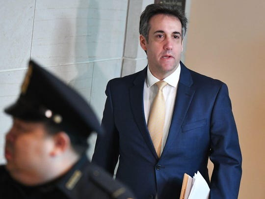 US-POLITICS-INVESTIGATION-COHEN