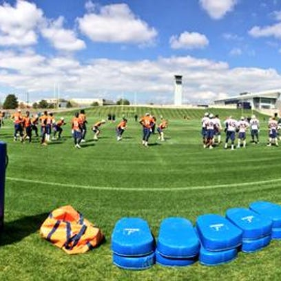 Broncos back on the field again