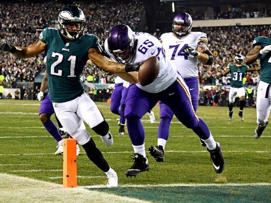 Patrick Robinson's 50-yard interception return touchdown