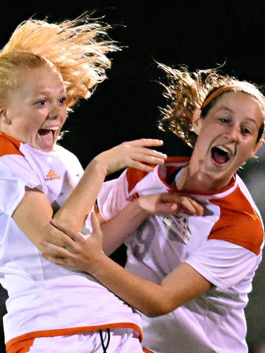 Northeastern vs Central York girls soccer