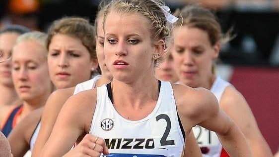 Missouri sophomore Karissa Schweizer.