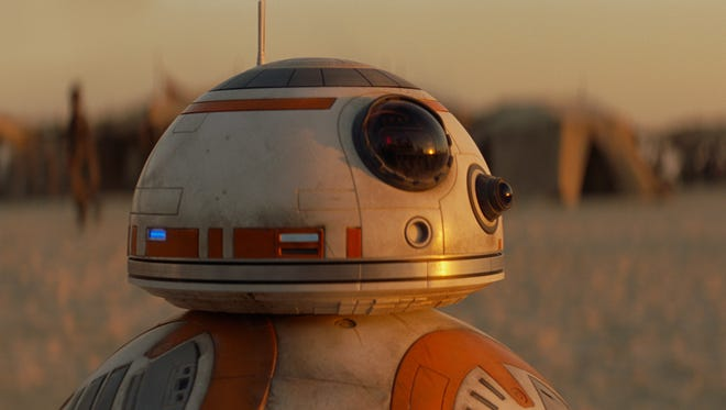 BB-8 is one of the new characters powering 'Star Wars: The Force Awakens.'