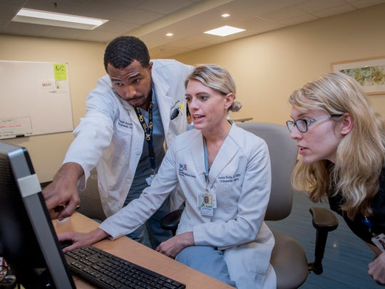 While caring for patients, physicians working within