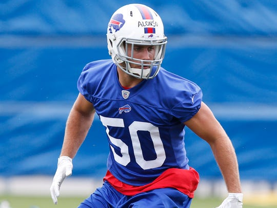 Buffalo Bills linebacker Kiko Alonso.
