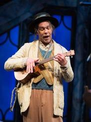 Louis Butelli as Feste. The Alabama Shakespeare Festival