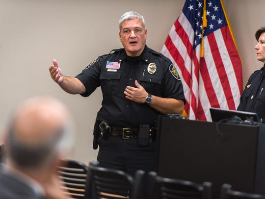 Buncombe County Sheriff Jack Van Duncan discusses a