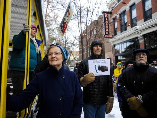 Immigration Ban Rally
