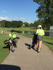 The PGA Junior Golf League is for golfers 13 and under, although there is some movement toward adding a level for players from 14 to 16 years old.