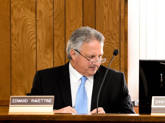 East Rutherford Council President Edward C. Ravettine