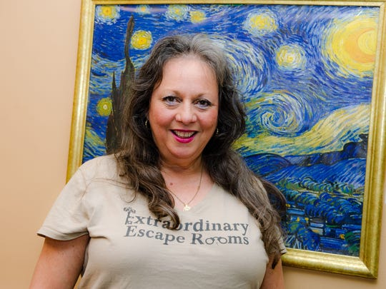"""Niki Gottesman opened Extraordinary Escape Rooms in September 2016 after visiting a friend in California who had just opened one.  """"I had so much fun and wanted to bring one home to Jupiter,"""" she said."""