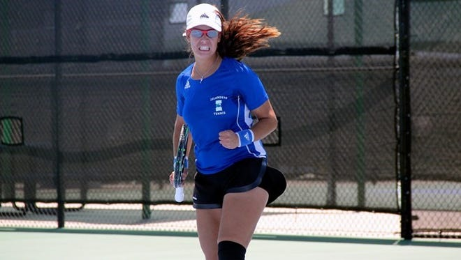 The Texas A&M-Corpus Christi women's tennis team won its third straight Southland Conference regular season title on Saturday.