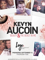 A promotional poster for the new film about celeb make-up artist Kevyn Aucoin