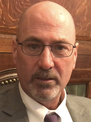 Patrick Metz, a personal injury attorney from Hackensack, is representing truck driver Earl Egbert.
