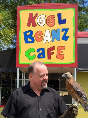 Keith Baxter is the owner of Kool Beanz Cafe in Midtown and a volunteer for St. Francis Wildlife.