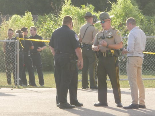 Police investigate an officer-involved shooting Sept. 16 in Winooski.