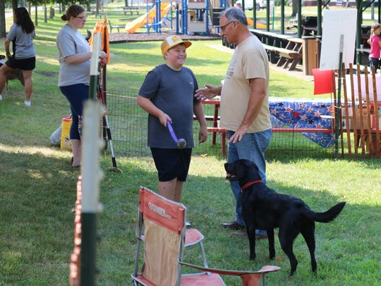 """The Lindsey Farmers Market hosted """"Woof-Fest"""" on Saturday,"""