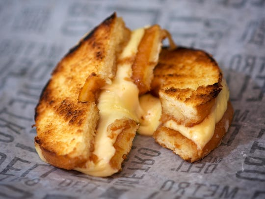 At Love Bugs Bakery, which has three locations in Brevard County, you can get your grilled cheese on a donut bun.