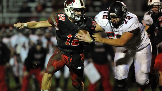 Fairfield Union senior Colin Woodside was named first team All-Ohio as a defensive lineman in Division IV.