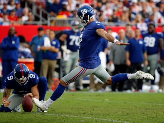 NFL: New York Giants at Tampa Bay Buccaneers