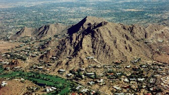 Paradise Valley Resident and developer Charles Mieg thought Mummy Mountain looked like an Egyptian mummy lying down. Do you see it?