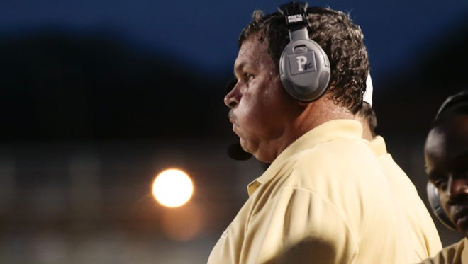 New Iberia coach Rick Hutson doesn't feel high school football coaches should have to recruit the athletes in their own attendance zone.
