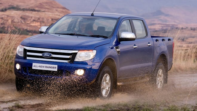 Ford Ranger is going to be built in Nigeria